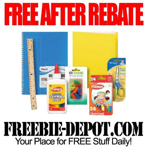 rite aid decorations free after rebate school supplies at rite aid freebie