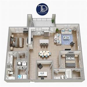 3d, Floor, Plans