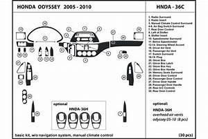 2005 Honda Odyssey Dash Kits