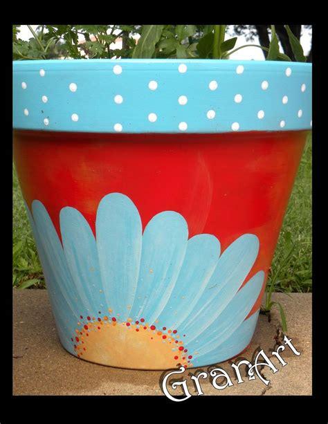 painted clay pots  granart hometalk