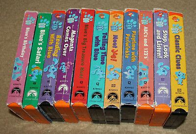 lot 11 sesame vhs slimey s best of kermit grover numbers more cad 45 00