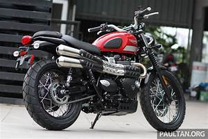 2017 Triumph Street Scrambler and Bobber now in Malaysia ...