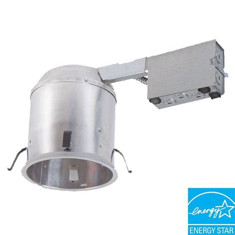 halo 6 in aluminum recessed lighting new construction ic