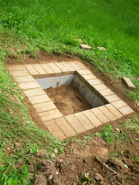 simple brick pit diy masonry what to do with cinder blocks toolbarn banter