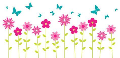 Walldecalsource-flower Wall Decals, Floral Wall Decor