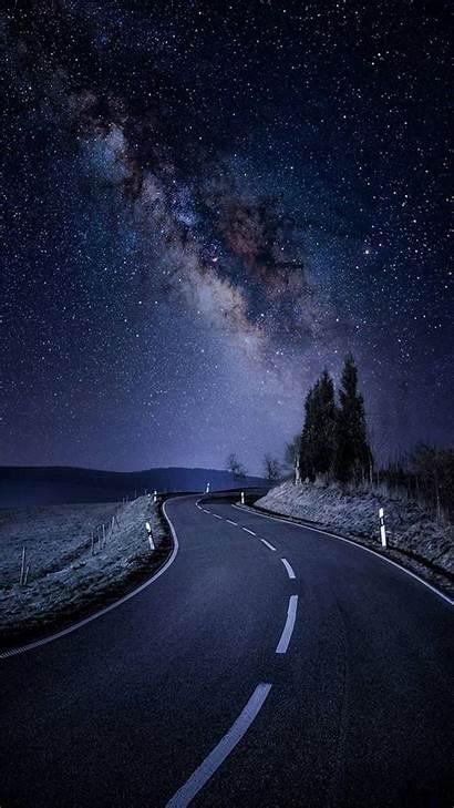 Night Sky Nature Imgur Wallpapers Phone Dump