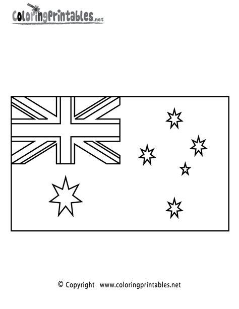 australia flag colors australia flag coloring page printable geography flag