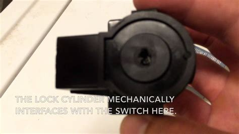 mercury mountaineer ignition switch removal