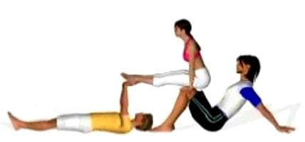 Yoga Challenge 3 People 95 Best Images About Acroyoga 3 Person Poses On Pinterest