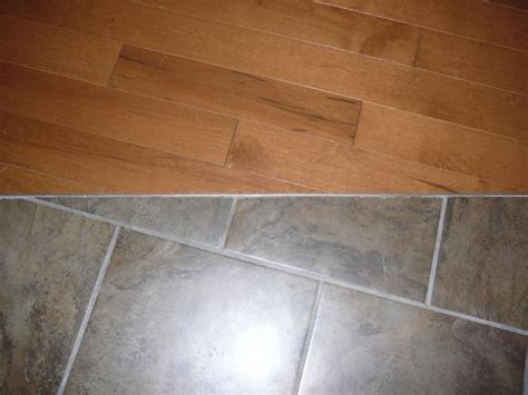 Strip Tile To Wood Floor Transition