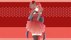 12, , redhead, anime, wallpaper