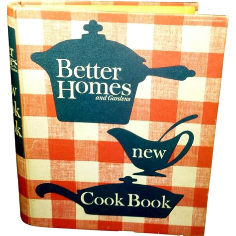 Better Homes And Gardens Cookbook 1962 From Rarefinds On