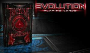 History and evolution of computers INVISIBLE EVOLUTION BICYCLE RED TRICK DECK PLAYING CARDS USPCC POKER SIZE MAGIC   eBay
