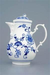 Porzellan Geschirr Hersteller : zwiebelmuster kaffeekanne mit deckel original bohemia ~ Michelbontemps.com Haus und Dekorationen