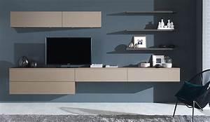 Meuble De Rangement Salon : meuble de salon pour cuisine ouverte harmonie ~ Teatrodelosmanantiales.com Idées de Décoration