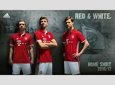Bayern Munich Debut New 201617 Home Kit Today!