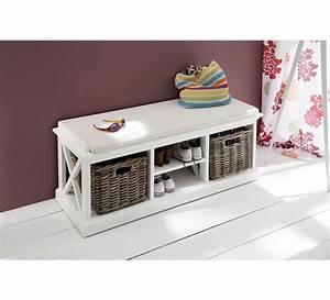 banc d39entree quotcygnequot 6444 With porte d entrée pvc avec meuble vasque salle de bain maison du monde