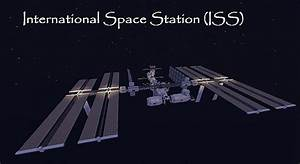 International Space Station ISS Minecraft Project