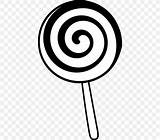 Lollipop Coloring Pages Candy Drawing Colouring Child Perfect Clipart Save Confectionary sketch template