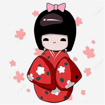 Doll Japanese Illustration Clipart Decoration Psd Upgrade