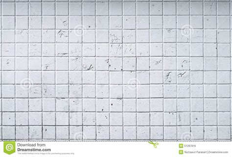 Old White Tile Wall Background Stock Photo   Image: 51287816