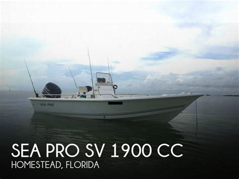 Used Sea Pro Boats For Sale Florida by For Sale Used 2005 Sea Pro Sv 1900 Cc In Homestead
