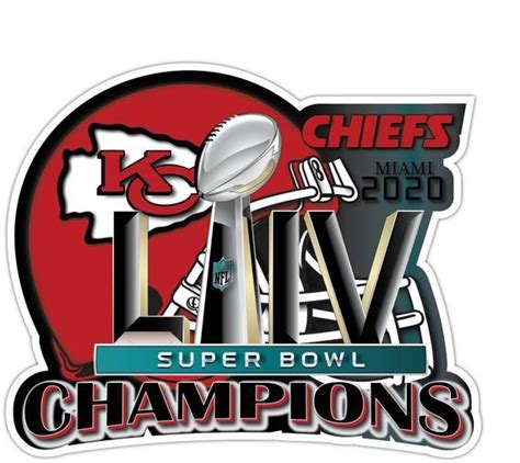 Super Bowl Superbowl 54 Champions 2020 Kansas City Nfl