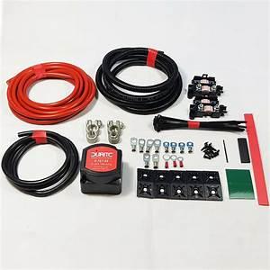 Split Charge Durite Relay Kit 5mtr Professional 12v 140amp