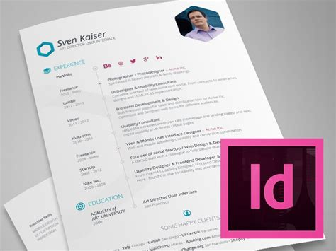 Indesign Resume Template by 12 Best Templates Ideas Images On Indesign