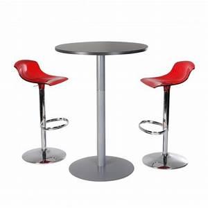 Bar Mange Debout : table mange debout ronde drink table mange debout ronde h110 cm spark office ~ Teatrodelosmanantiales.com Idées de Décoration
