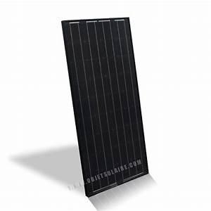 Panneau Solaire 100w : panneau solaire noir 100w 12v panneau photovolta que ~ Nature-et-papiers.com Idées de Décoration