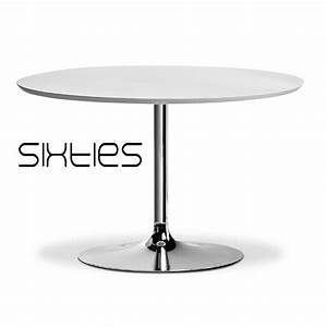 Table Ronde 1 Pied. table ronde sur pied central type trompette onda ...