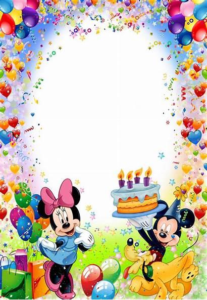 Birthday Happy Fotos Marcos Para Feliz Mickey