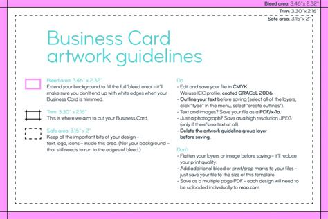 How To Design Business Cards Using Canva & Moo