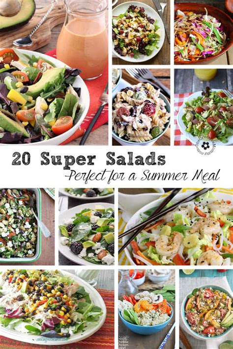 20 Delicious Main Dish Salad Recipes For Summer