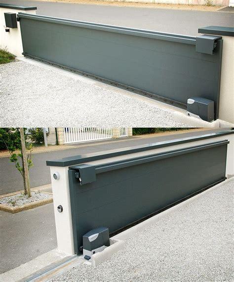 prix porte coulissante automatique prix portail coulissant 4m portail et portes de garage