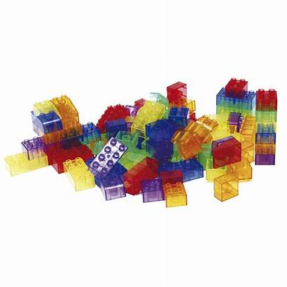 Translucent Blocks Module Building