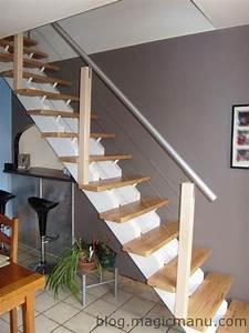 Rampe D Escalier Moderne : 17 best ideas about rampes d escalier on pinterest rampe d 39 escalier rampes d 39 escalier and ~ Melissatoandfro.com Idées de Décoration