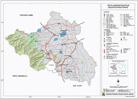 peta kota peta kabupaten musi rawas