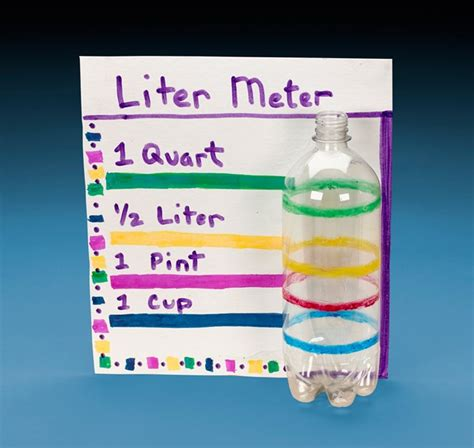 how to make a l liter meter experiment with volume crayola co uk