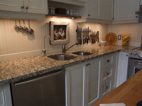 beadboard kitchen backsplash beadboard backsplash trim it with rustic wood slats