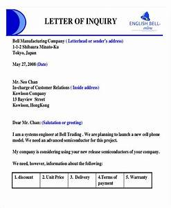 [Sample Letter Inquiry For Product] photo enquiry letter format images product inquiry sample