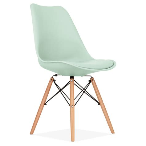 chaise type eames mint dining chair with dsw style wooden legs