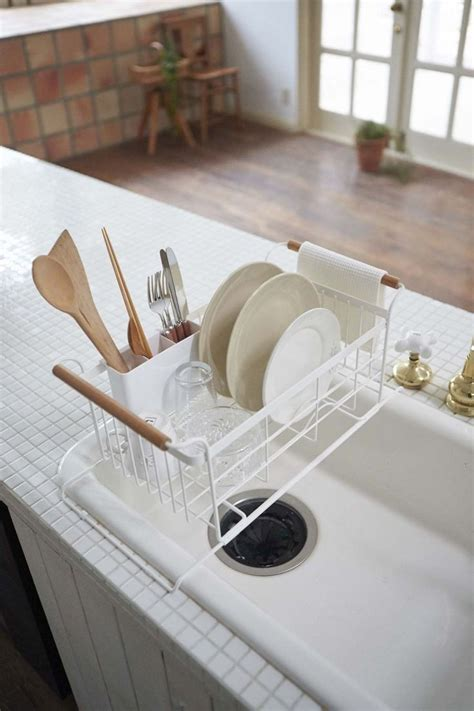 dish drying racks ideas  pinterest kitchen
