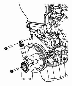 Dodge Caravan Accessory Drive Belt Tensioner Assembly