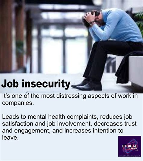 job insecurity sap peoples   behave ethically