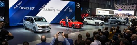 Mercedes-benz Cars At The 2019 Geneva International Motor