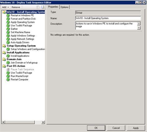 Sccm Resume Task Sequence by Venu Singireddy S Sle Sccm Task Sequence For
