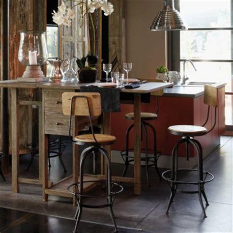 comptoir de cuisine maison du monde table de bar maisons du monde