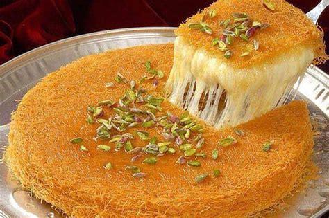 bassma cuisine طريقة عمل الكنافة النابلسية الناعمة بالجبنة